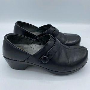 Dansko black slip-on clogs size 7.5